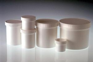 White Jar, 70-400 White Linerless Cap, 8oz, case/36