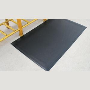 """Anti-Fatigue Mat, Dura Step, 1/2"""", Black, 3 x 5"""