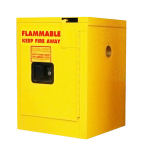 Flammable Storage Cabinet, 4 gal self-closing