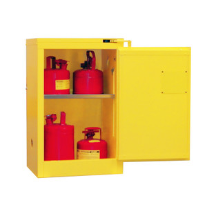 Flammable Storage Cabinet, 12 gal, self-closing