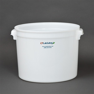 Small and Large Round Plastic Storage Containers in California