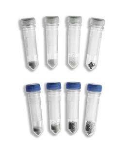 Triple-Pure Starter Kit, 10 each of 0.1, 0.5, 1.0, 1.5, 3.0mm, Zirconium Beads