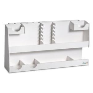 TrippNT 50664 HPLC Supplies Lab Organizer, 10 Column