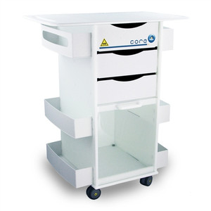 MRI Core DX Storage Cart, Extended 29-Inch Top