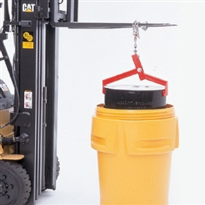Drum Lifter Metal Clamp for Safely Lifting Salvage drums,