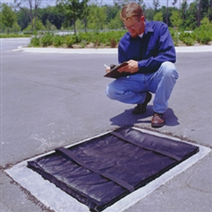 UltraTech Grate Guard to Filter Sediment from Stormwater Runoff
