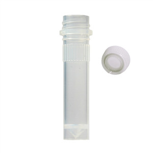 BioPlas 4204 Microcentrifuge Tube, Conical 2.0mL, No Caps, case/1000