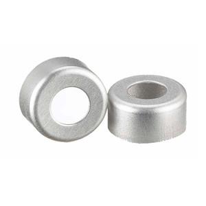 11mm Seal, Open Top Hole Cap, Aluminum, Unlined, case/1000