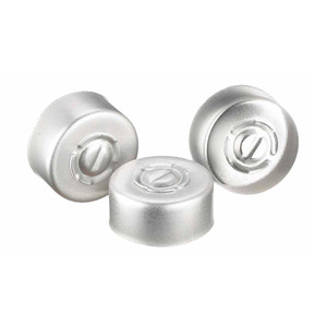 13mm Seal, Center Tear-Out, Aluminum, Unlined, case/1000