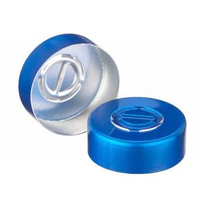 20mm Seal, Center Tear-Out, Aluminum Blue, Unlined, case/1000