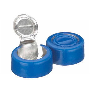 224192-05 13mm Seal, Tear-Off, Aluminum Blue, Unlined, Case/1000