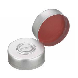 20mm Seal, Center Tear-Out Aluminum, PTFE/Rubber, case/1000