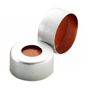 11mm Seal, Aluminum, PTFE/Silicone/PTFE, case/1000