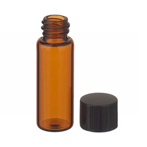 2mL, Economy Vial, Glass Amber, 8-425 Cap, PTFE Liner, Case/200