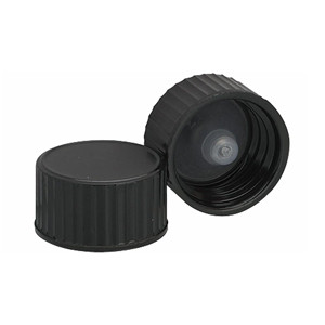 Wheaton 239251 18-400, Phenolic Black Caps, Polyethylene Cone Liner, case/144