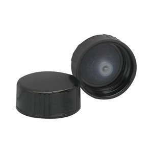 24-400 Black Caps, Poly Cone Liner, case/144