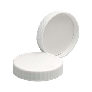 53-400 PP Caps, White, Foamed Poly Liner, case/72