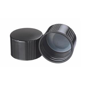 Wheaton 240081 38-430 Caps, Phenolic Black, Poly Liner, case/200