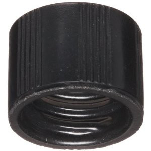 8-425 Caps, Phenolic Black, White Rubber Lined Caps, case/1000
