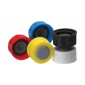 20-400 I-Loc Caps, PP Black, case/100