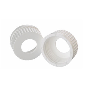 Wheaton 240746 45mm Caps, PP White, 25mm Center Hole, case/12
