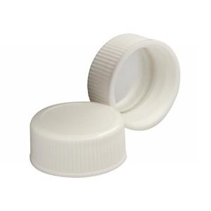 Wheaton 240804 22-400 Caps, Polypropylene White, Foil Liner, case/1000