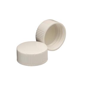 Wheaton 22-400 Caps, Urea White, Polyethylene Lined Disc, case/1000