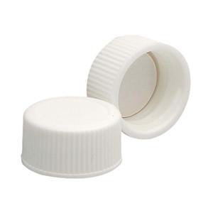 22-400 Caps, PP White, Foamed Poly Liner, case/200