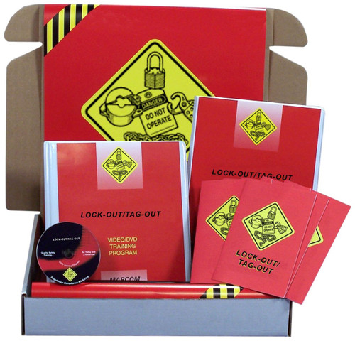 Safety Training: Lock-Out/Tag-Out Regulatory Compliance Kit