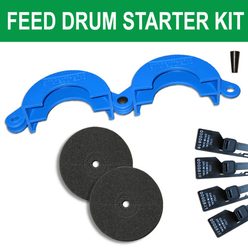 Drum Lock Safety Clamp Starter Kit, Choose Style & Color