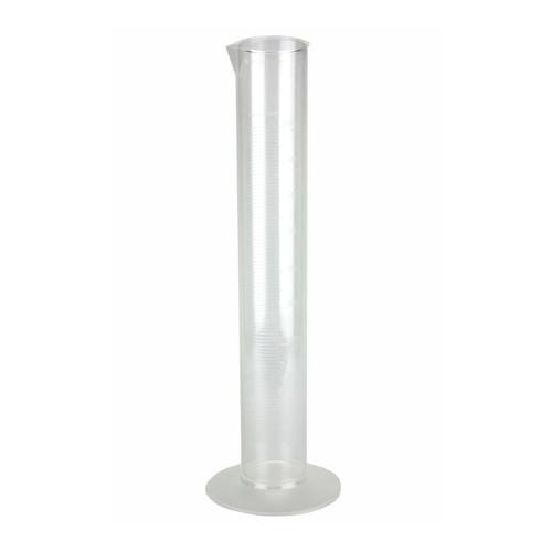 Nalgene 3665-1000 Graduated Cylinder, Economy, PMP, 1000mL, case/6