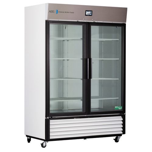 TempLog Premier Laboratory Double Swing Glass Door Refrigerator 49 Cu. Ft.
