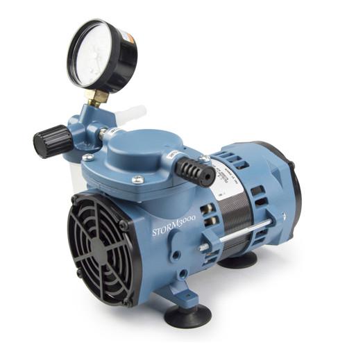 STORM3000 Chemical Resistant Diaphragm Vacuum Pump, 115V, 60Hz