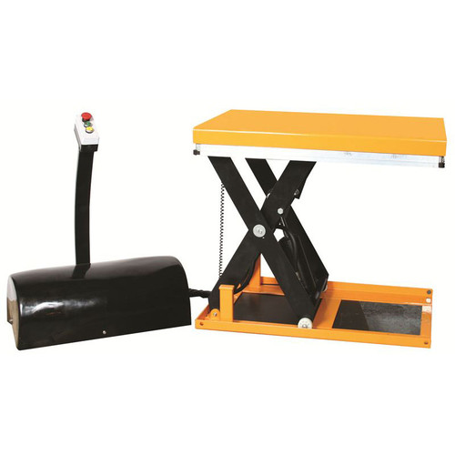Wesco 270662 2200 lb Capacity Mini Electric Scissors Lift Table