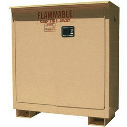 weatherproof outdoor cabinet 30 gal self closing 2 door. Black Bedroom Furniture Sets. Home Design Ideas
