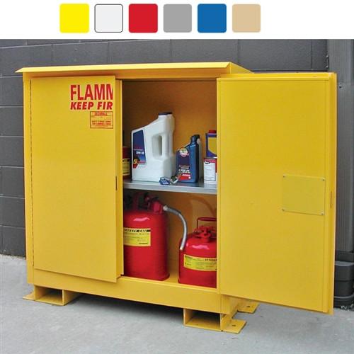 weatherproof outdoor cabinet 45 gal self close self close. Black Bedroom Furniture Sets. Home Design Ideas