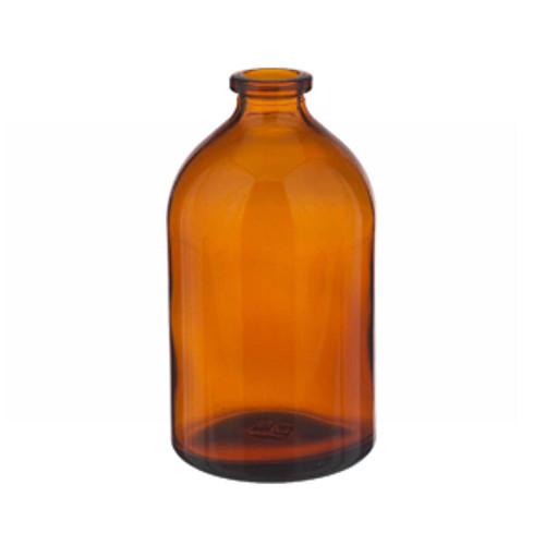 100mL Amber Serum Bottle, Borosilicate Glass Amber, case/144