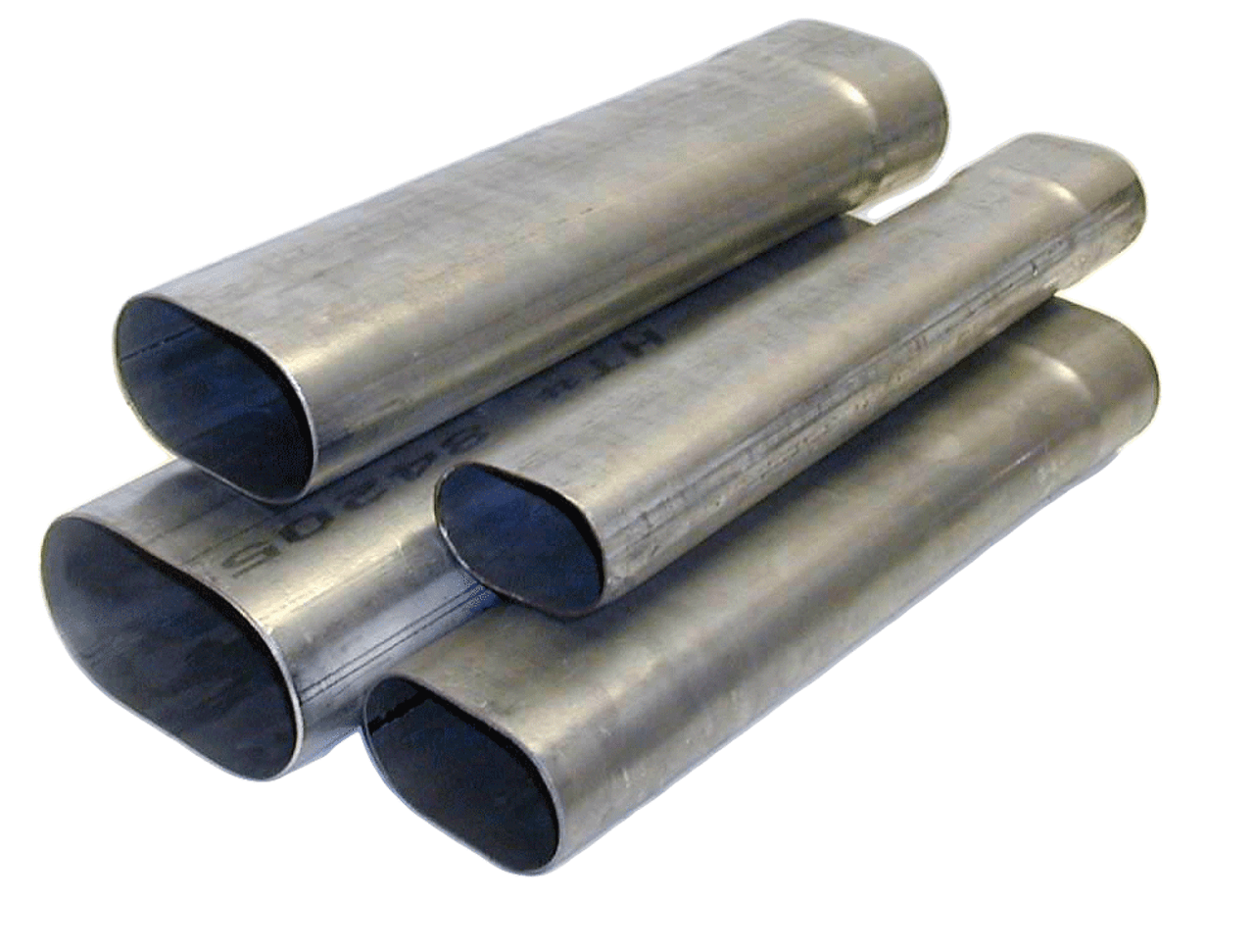 Oval Tubes Straight Lengths, Expanded One End