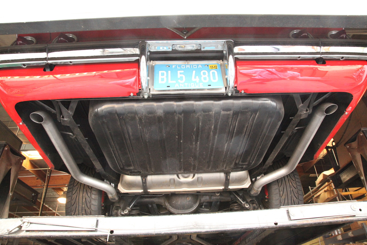 Chevy X-Frame Exhaust for Years '58 – '64