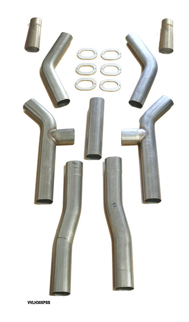 X Panded Universal Oval H Pipe Kit