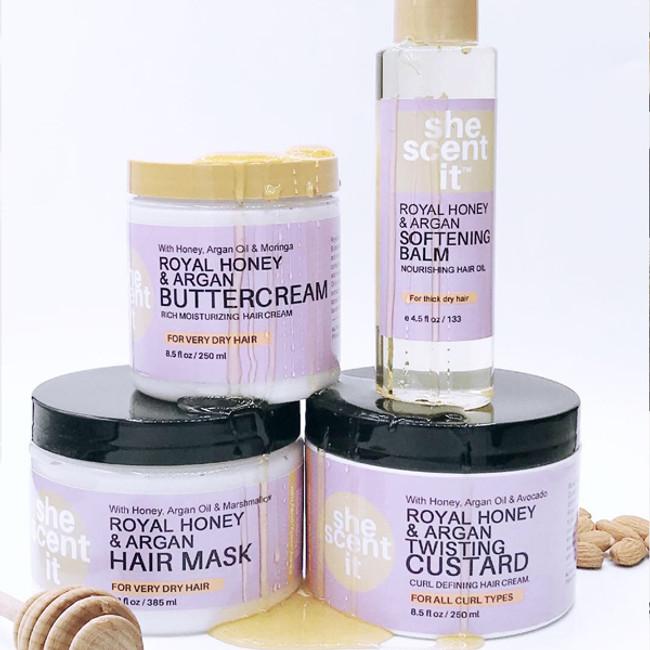 Royal Honey & Argan Collection