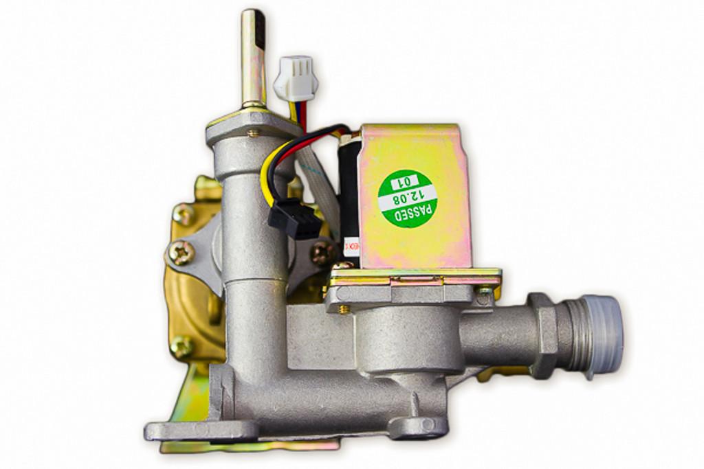 FVI12-LP Gas/Water Valve Assembly - Left Side
