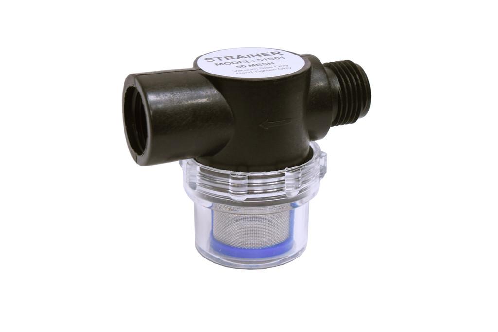 Eccotemp EccoFlo Diaphragm 12V Water Pump and Strainer