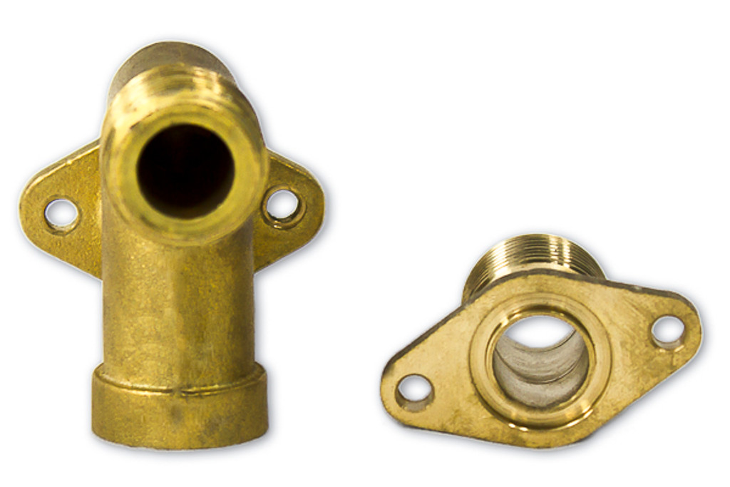 40 Series Water Inlet / Outlet Assembly Alternate Top View