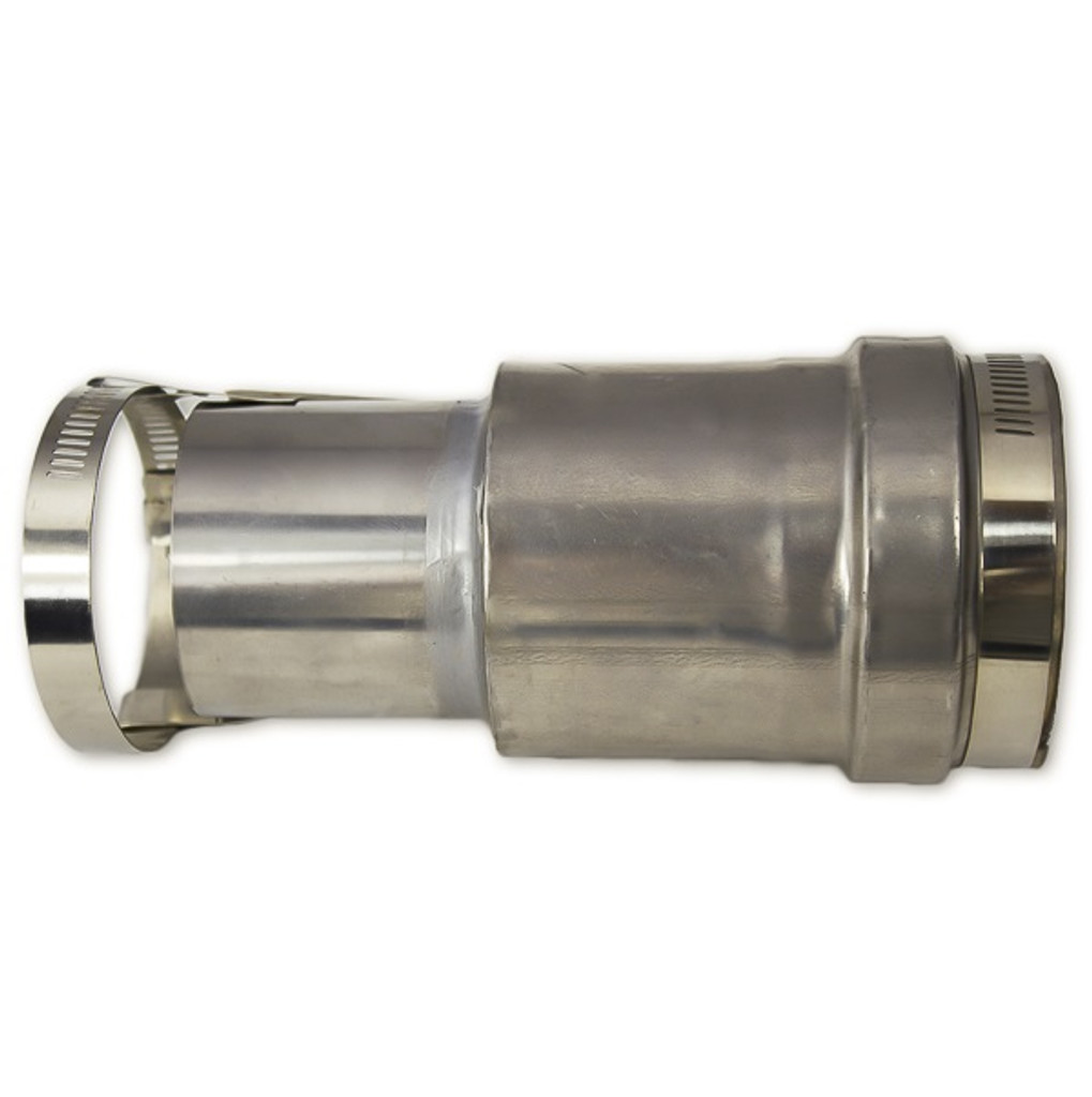 """Eccotemp 2.5"""" to 3"""" Vent Adapter Side View"""