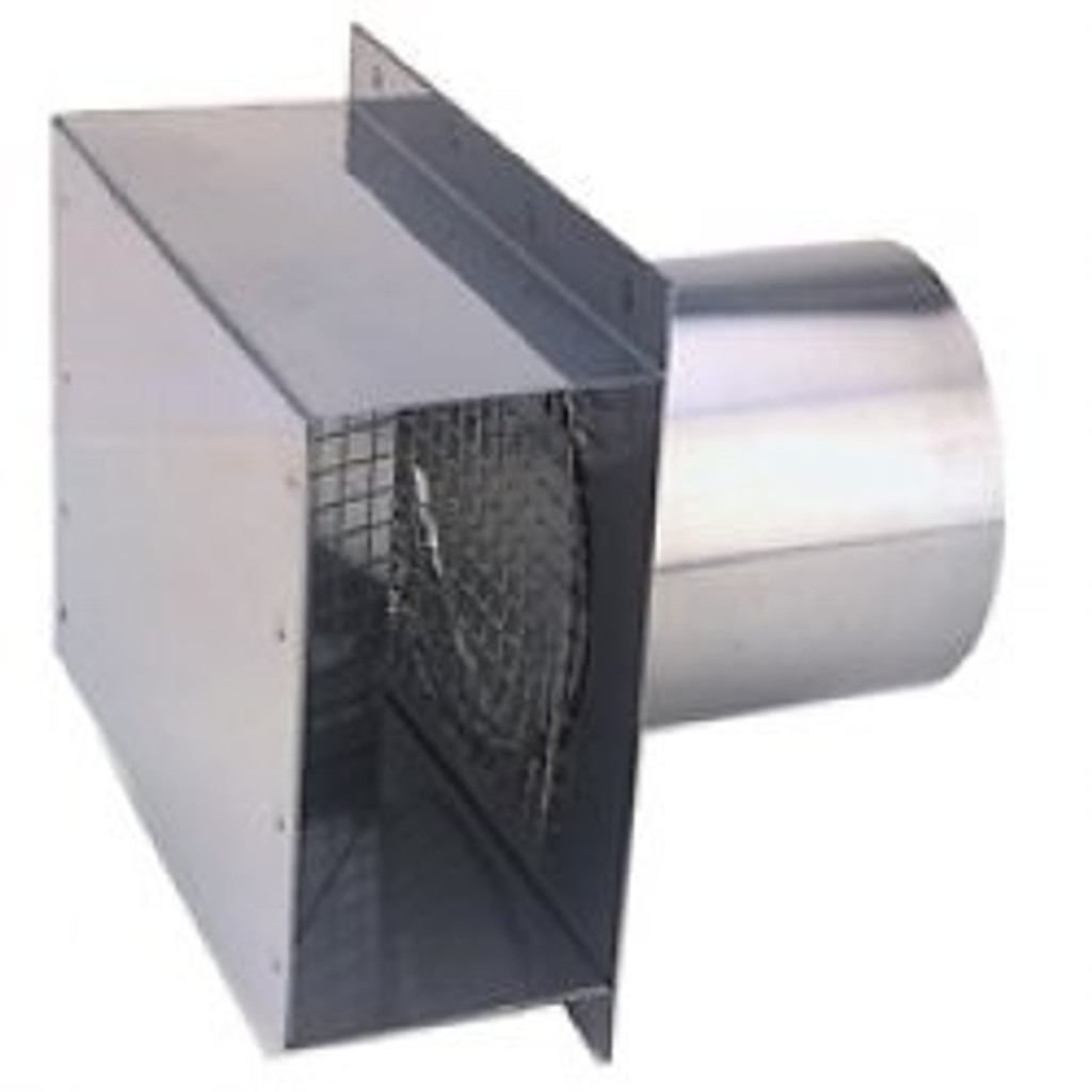 """3"""" Vent Termination Box Side View"""