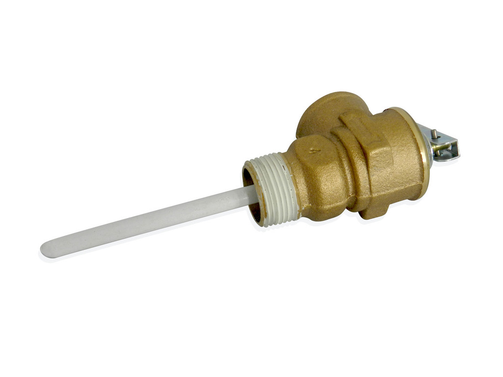 "3/4"" Temperature and Pressure Relief Valve Alternate Side View"