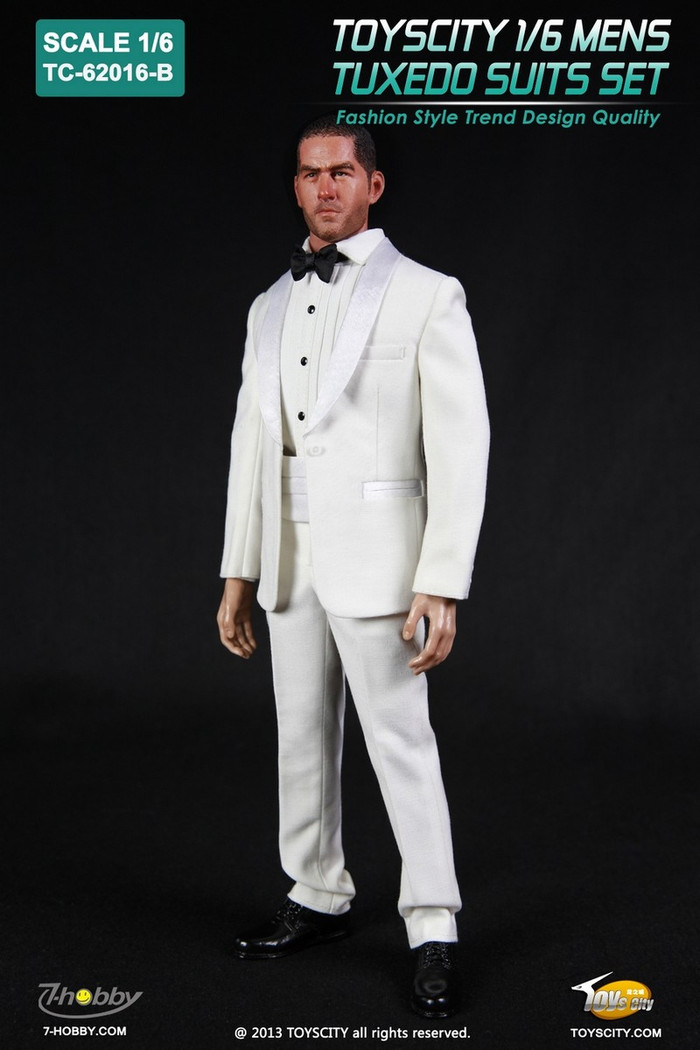 Toys City - Tuxedo Set - White