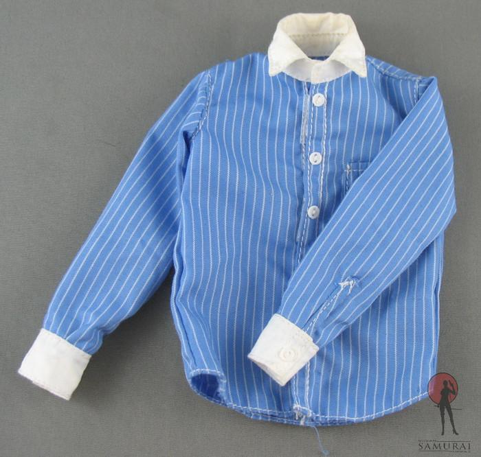 Other - Dress Shirt - Pinstripe - Blue & White