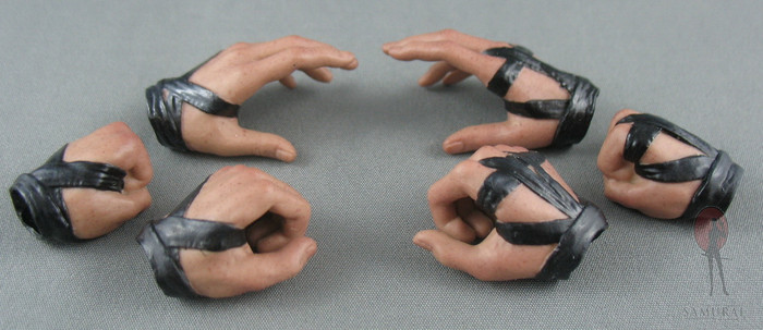 Hot Toys - Hand Set - Leather Wrapped